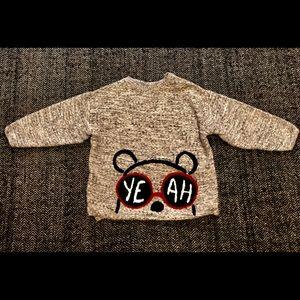 Zara cotton sweater size 2-3T